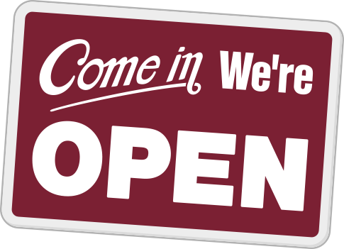 Royston - Come in, we are open